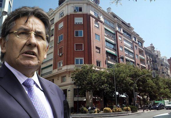 El refugio de Néstor Humberto Martínez en Madrid