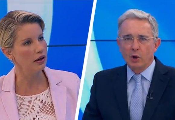 La visceral defensa de Claudia Gurisatti a Álvaro Uribe