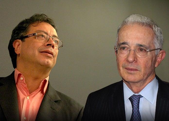 La lección de humildad que le dio Uribe a Petro