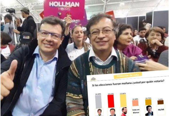 La encuesta que tiene felices a Petro y Hollman Morris