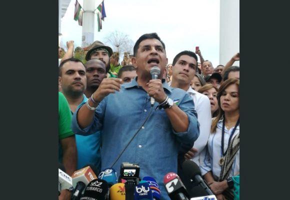Giro en la campaña electoral para la alcaldia de Cali: Ospina entra en huelga de hambre