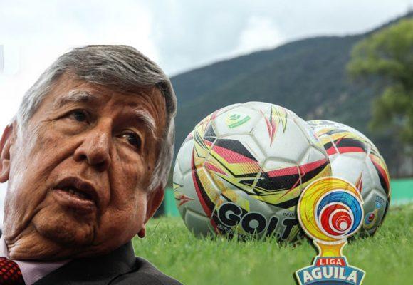 José Noe Rios no logró evitar el paro de futbolista