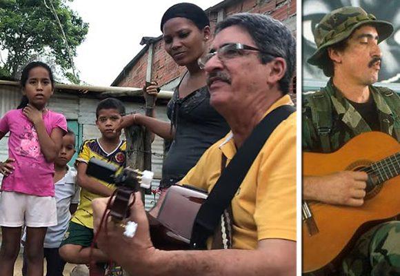 Con su guitarra el exguerrillero Julián Conrado llegó a la alcaldía de Turbaco