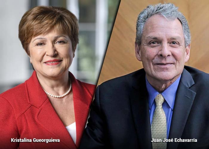 Nueva directora FMI; aplausos para Colombia