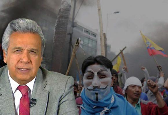 Ecuador: Huelga indefinida y movilización en medio del toque de queda