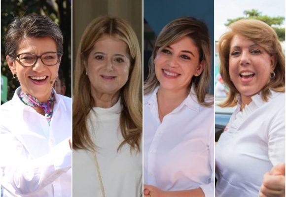 Cuatro mujeres llegaron a ciudades capital y gobernaciones