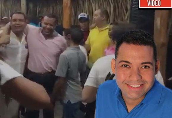 VIDEO: Celebración del nuevo gobernador de La Guajira con suspolémicos aliados