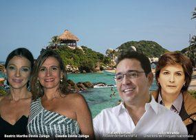 Julia Miranda encuentra aliado para defender las playas del Tayrona