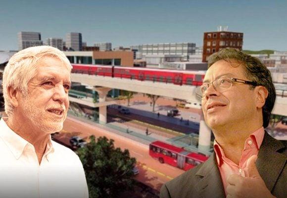 Cómo Petro le facilitó a Peñalosa la decisión sobre el metro elevado
