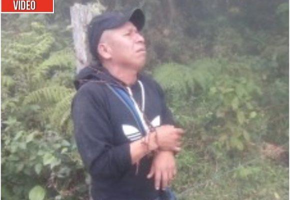 Video: amarrado con alambre encuentran a coordinador de la Guardia Indígena del CRIC en el Cauca