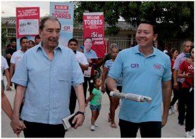 Fuad Char salió a la calle a pelear la Alcaldía de Soledad