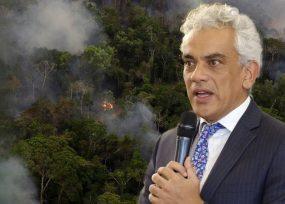 Rajada del ministro de Ambiente por no proteger la Amazonía