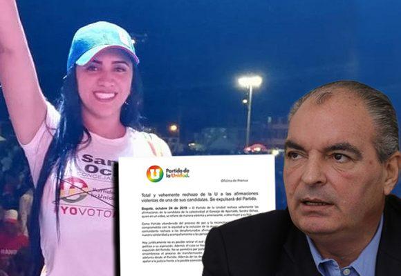 Aurelio Iragorri toma medidas contra candidata de la U que pidió violar a una mujer
