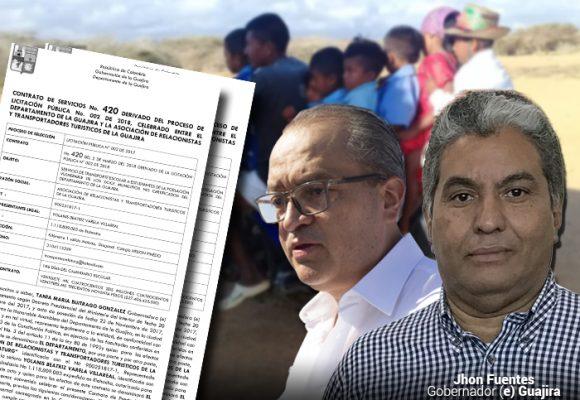 El contrato que tendría al nuevo gobernador (e) de La Guajira a punto de ser suspendido