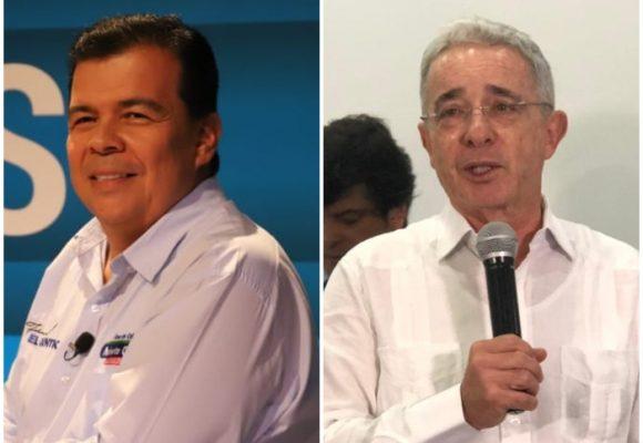 El Chontico Ortiz le hizo el feo a Uribe en Cali