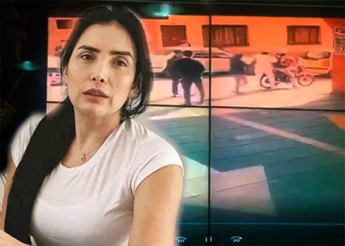 [VIDEO] La caída de Aida Merlano en su espectacular fuga que no la detuvo