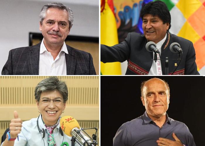 Giro a la izquierda en América Latina en las últimas elecciones