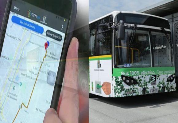 La aplicación para consultar las rutas de buses de Medellín