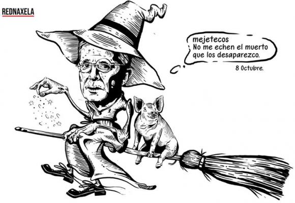 Caricatura: ¿Cómo podrá escapar Uribe de lo que viene?