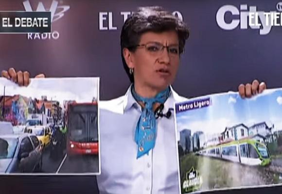 Claudia López y sus promesas de personera de colegio