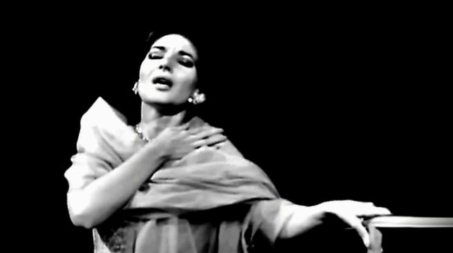 La Callas en la noche de su derrota. De su Norma los milaneses solo pudieron contemplar un solo acto.
