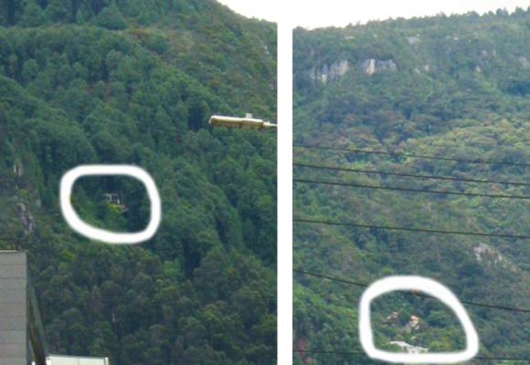 Detectan nuevo foco de casas en plenos Cerros Orientales