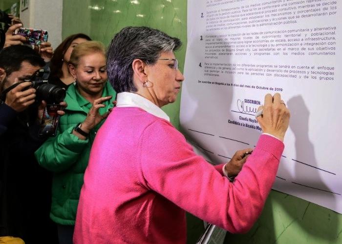 Las promesas que podría incumplir la nueva alcaldesa de Bogotá