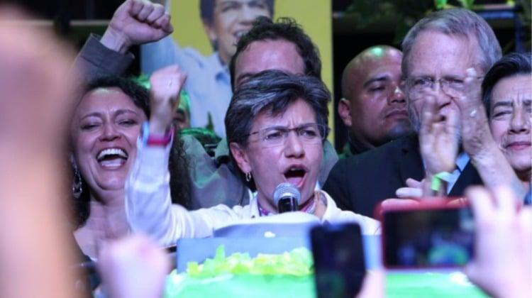 ¡Claudia alcaldesa!: la mujer que le ganó el pulso a Petro y a Uribe