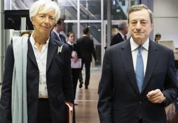 A Christine Lagarde le puede explotar el mundo de Mario Draghi
