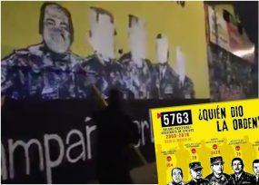 VIDEO: Este es el mural que fue borrado en Bogotá por denunciar generales