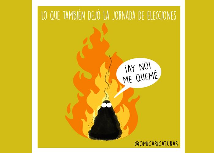 Caricatura: Lo que también dejaron las elecciones