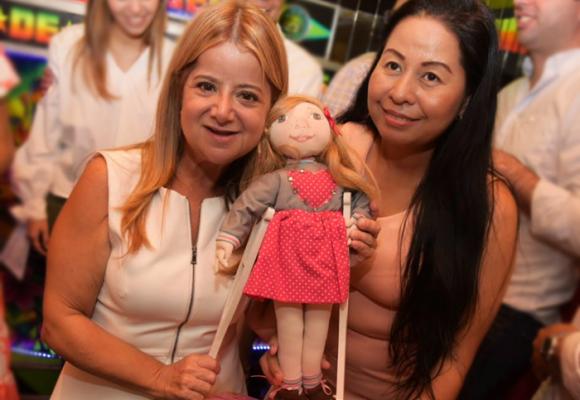 La muñeca de trapo que simboliza el esfuerzo de Elsa Noguera
