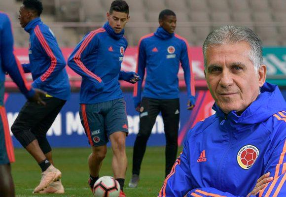La guerra de Queiroz con las estrellas de la Selección