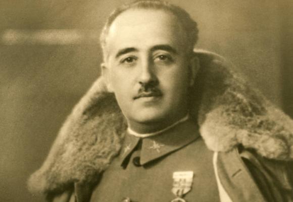 Francisco Franco vuelve a reinar El Pardo