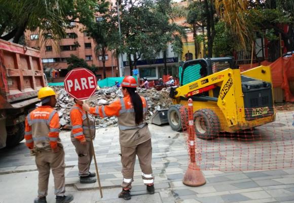 Obras de mejoramiento en La Playa (Medellín), la solución que se convirtió en pesadilla