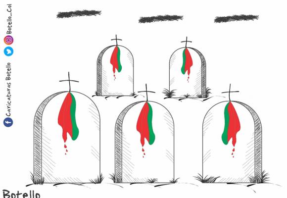 Caricatura: ¿A quién más van a matar?
