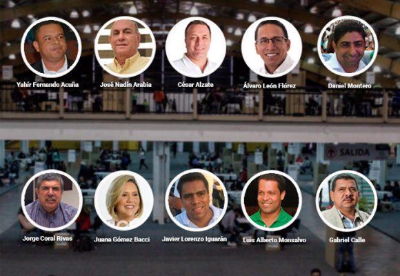 Top 10 de candidatos cuestionados de las elecciones regionales