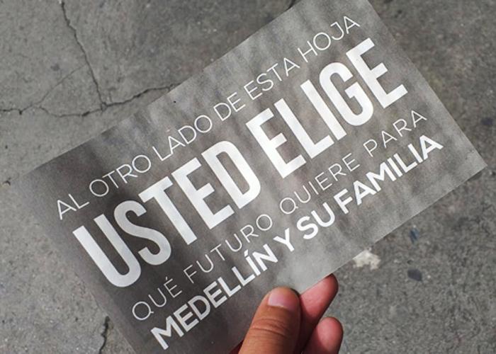 Con propaganda negra atacan a Daniel Quintero en su carrera a la alcaldía de Medellín