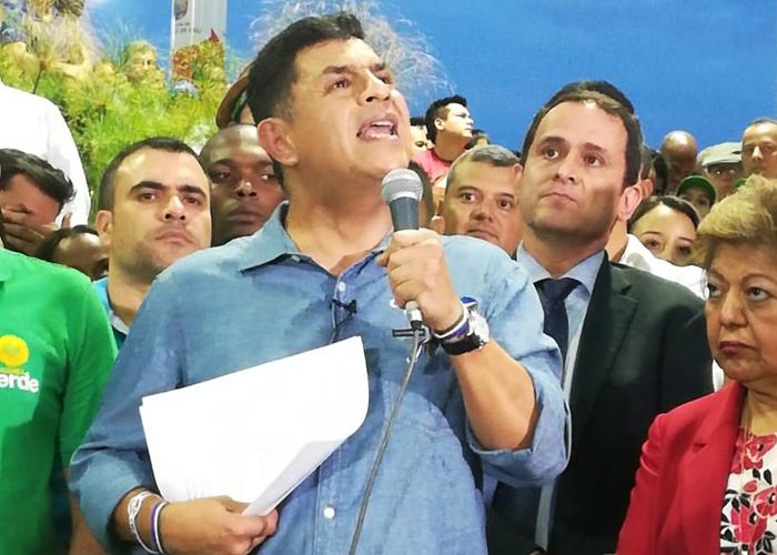 La huelga de hambre de Ospina es para denunciar la guerra sucia