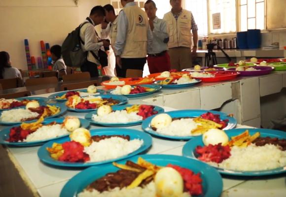 Trescientos trece mil estudiantes, sin acceso a alimentación escolar