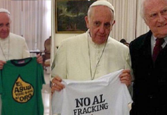 ¿Está el papa Francisco en contra del 'fracking'?