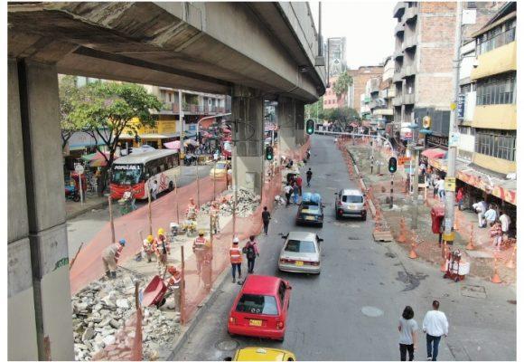El embellecimiento peatonal que protagoniza Medellín