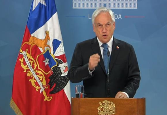 En su desespero Piñera promete reformas imposibles en Chile