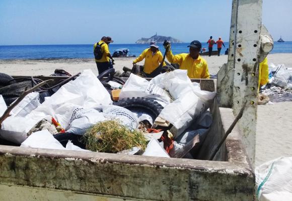 Playa Los Cocos, un símbolo de todo lo que está mal en Santa Marta