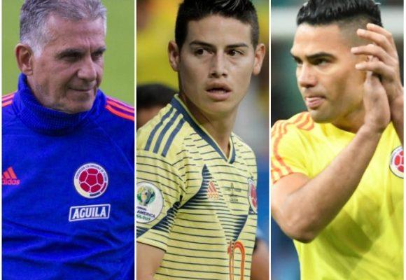 El desprecio de Queiroz por James y Falcao le salió caro a Colombia