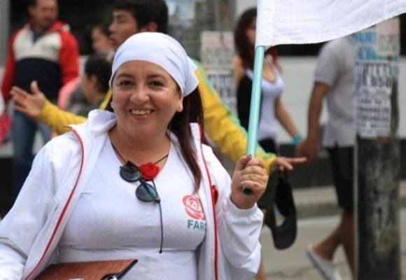 Sofía, la exguerrillera que quiere ser concejal