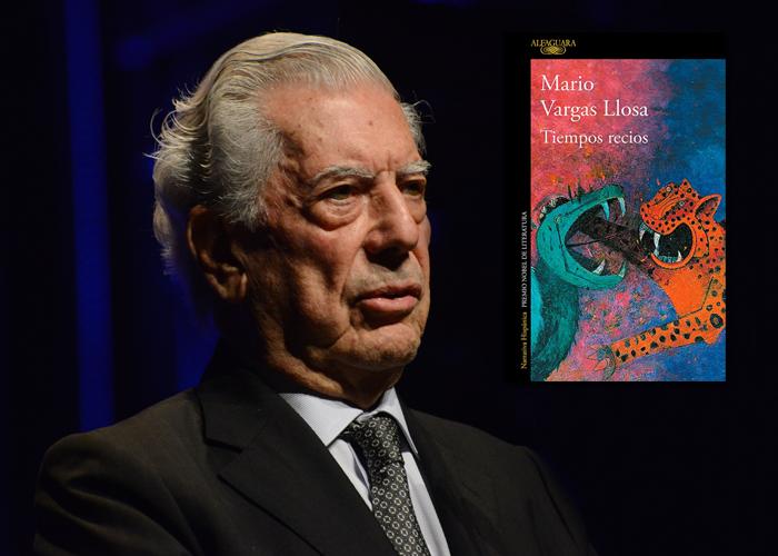 La lección que Vargas Llosa le dio a los periodistas en la presentación 'Tiempos recios'