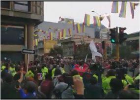 VIDEO: Furia en la calle alrededor de la indagatoria de Uribe