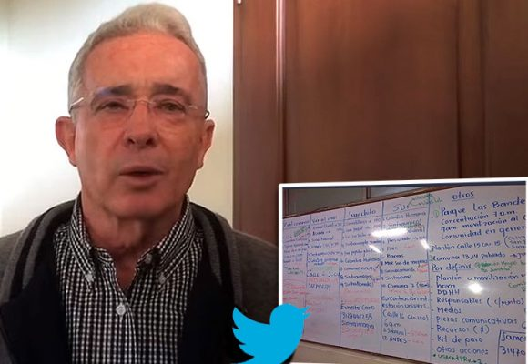 Uribe se queda sin Twitter