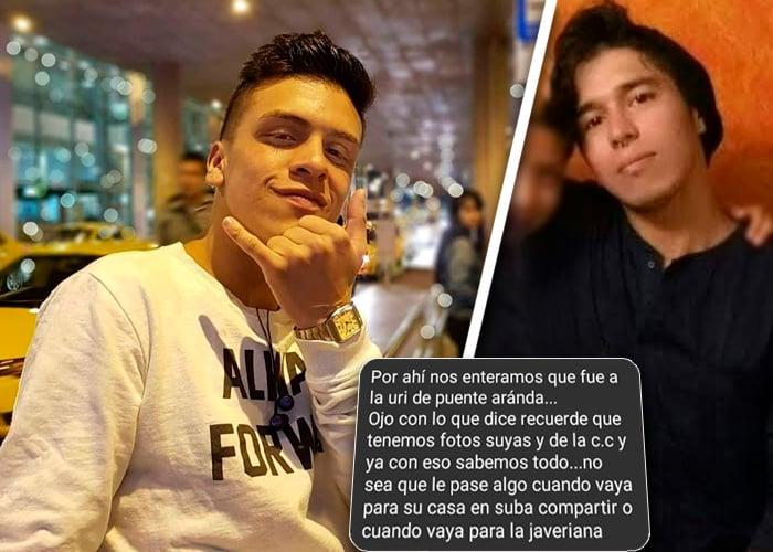 Las amenazas al testigo del asesinato de Dilan Cruz